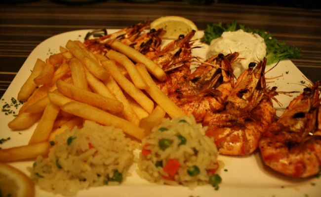 99. Grilled Shrimp 17,50€