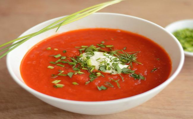 1. Tomatensuppe 4,50€